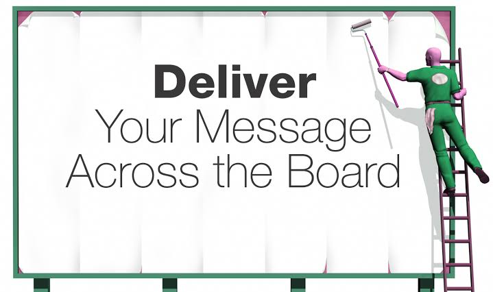 banner of ad agency