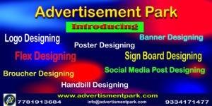 logo designing and flex designing